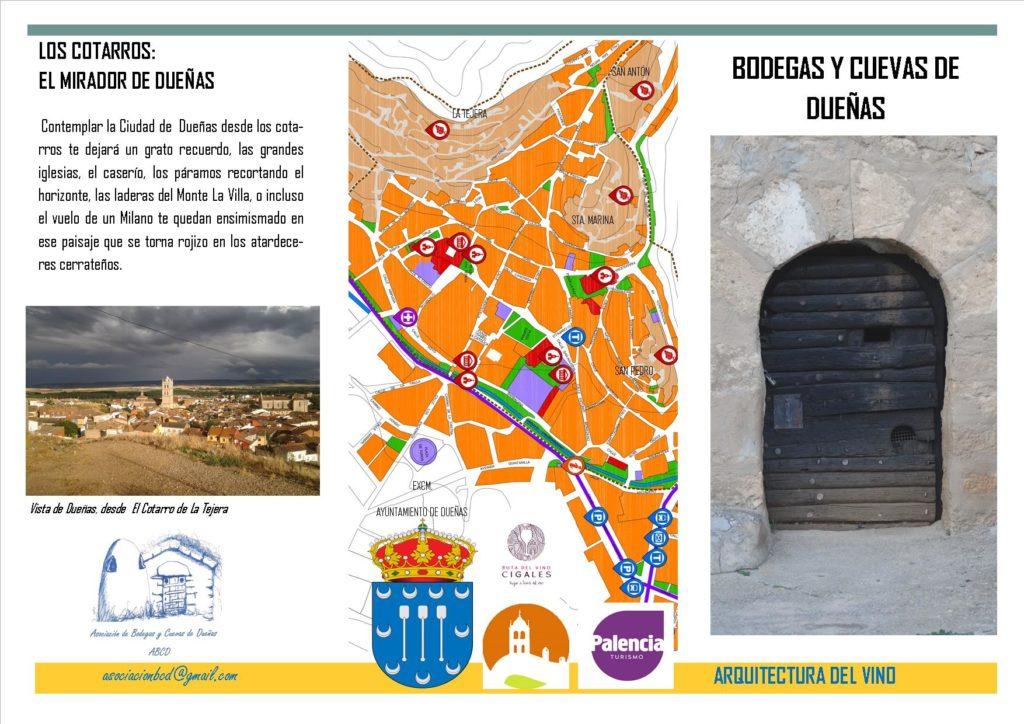 Tríptico, Bodegas y Cuevas de Dueñas