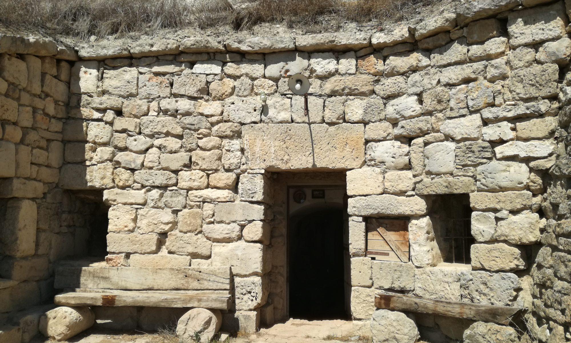 Casa cueva subterránea en Dueñas.