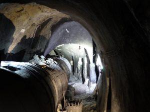 Interior de Bodega.