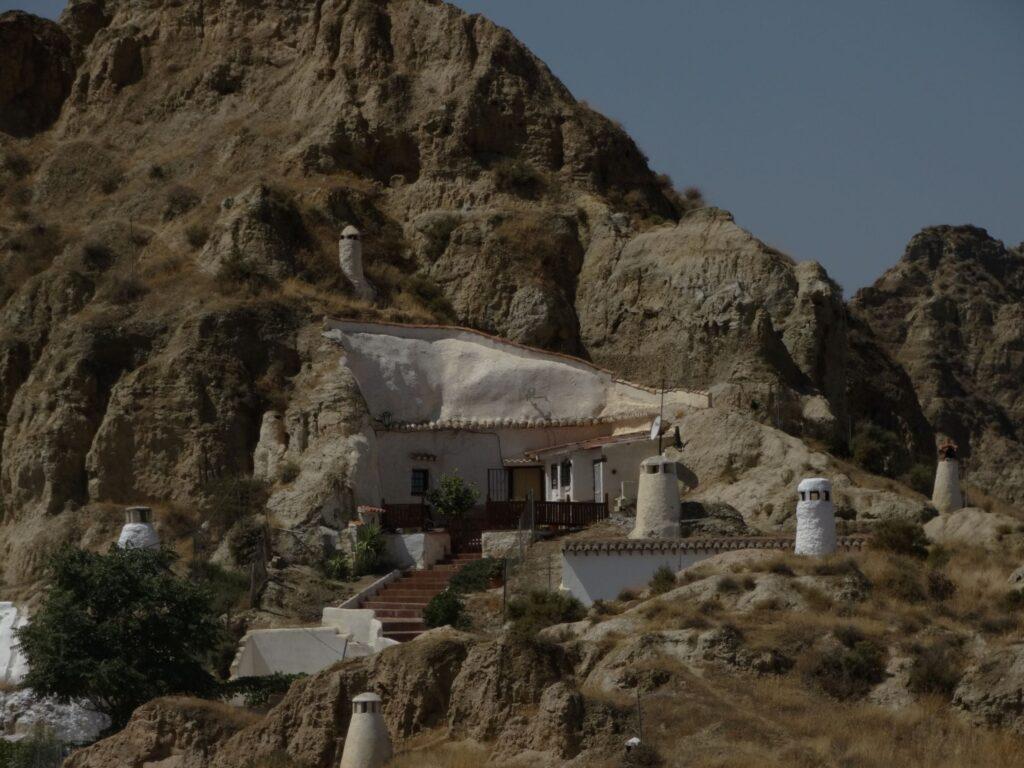 Casas cueva de Guadix Granada